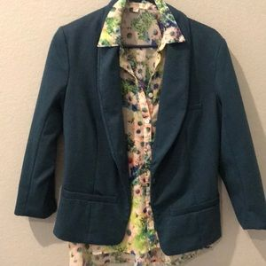 Mossimo blazer and blouse